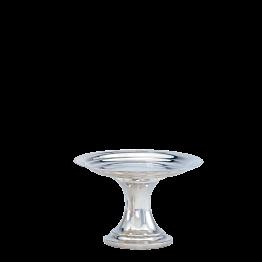 Copa alta plata Ø 26 cm. Alt. 17 cm.