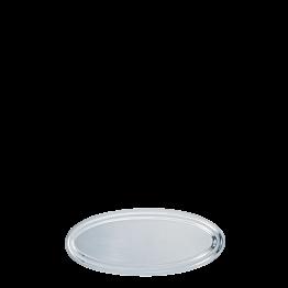 Fuente oval plata 60 cm.