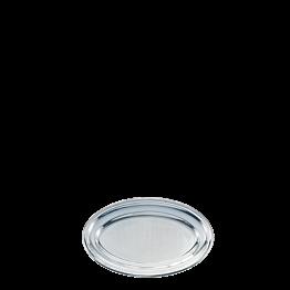 Fuente oval plata 33 x 50 cm