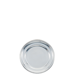 Bandeja redonda plata Ø 35 cm.
