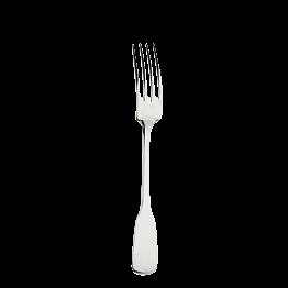 Tenedor de servicio plata