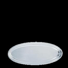 Fuente oval plata 80 cm.