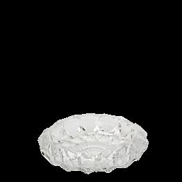 Cenicero en cristal prisma redondo Ø 11 cm.