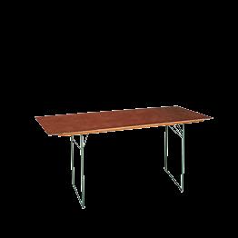 Mesa rectangular 80 x 220 cm.