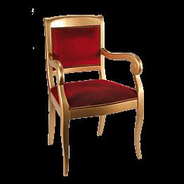 Sillón Napoleón III rojo
