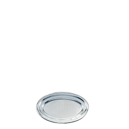 Fuente oval plata 31 x 45 cm