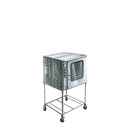 Horno ventilado humidificado 380 v. 10 gn 1/1