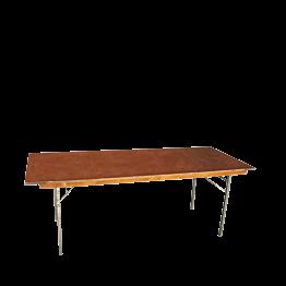 Mesa rectangular 80 x 200 cm.