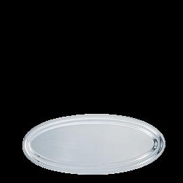 Fuente oval plata 70 cm.
