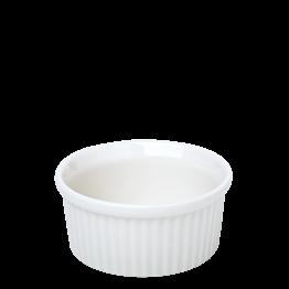 Molde de flan blanco Ø 8 cm. Alt. 4 cm. 10 cl.