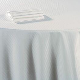 Servilleta algodón blanco 60 x 60 cm.