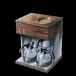 Máquina de café Miko 220 v. + 1 paquete de 4 dosis de café