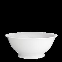 Ensaladera blanca Ø 25 cm. Alt. 10 cm. 200 cl.