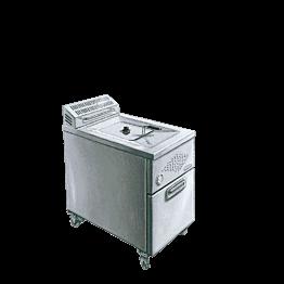 Freidora gas capacidad 15 litros