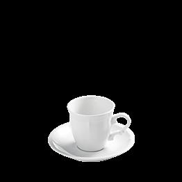 Taza y plato de café Rohan 13 cl.