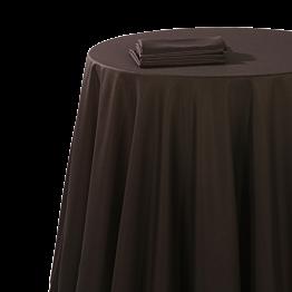 Servilleta chintz negra 60 x 60 cm ignífugo M1