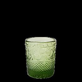 Portavela barroco verde Ø 5 cm Alt. 6,5 cm
