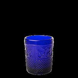 Portavela barroco azul oscuro Ø 5 cm Alt. 6,5 cm