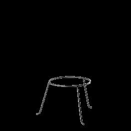 Soporte de fuente de hierro Ø 22 cm Alt. 19 cm.