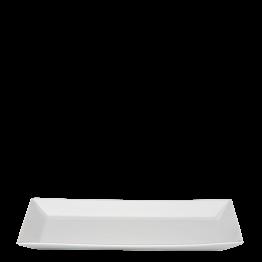 Fuji rectangular blanco 12 x 24 cm.