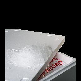 Hielo pilé 20 kg.+ caja isotérmica