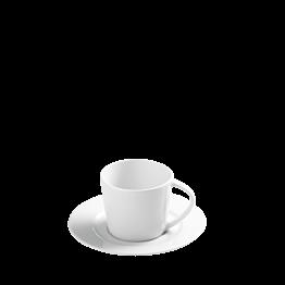 Taza y plato de café Lak Duna 9 cl