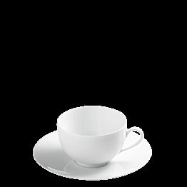 Taza y plato de té Lak Duna 16 cl.