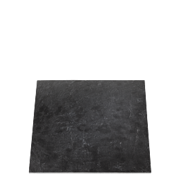 Bajoplato cuadrado pizarra 30 x 30 cm