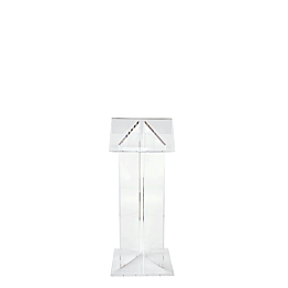 Pupitre metacrilato L 40, A 40, Alt. 120 cm.