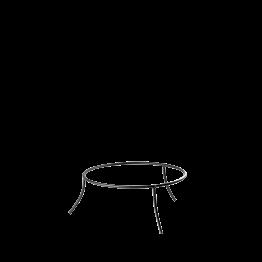 Soporte de fuente de hierro Alt. 10 cm. Ø 25 cm