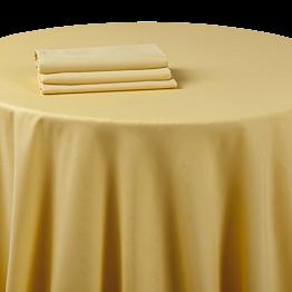 Servilleta chintz amarilla tornasolado 60 x 60 cm.