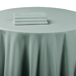 Serviette de table chintz gris souris 60 x 60 cm ignifugée M1