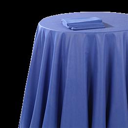 Mantel chintz azul océano 210 x 210 cm