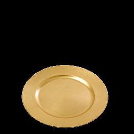 Bajoplato redondo oro Ø 33 cm