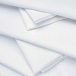 Pasillo de mesa lino blanco 50 x 270 cm.