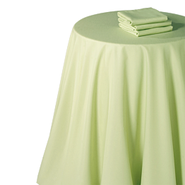 Mantel chintz pistacho 270 x 270 cm.