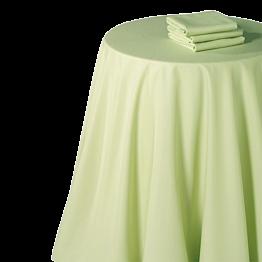Servilleta chintz pistacho 60 x 60 cm.