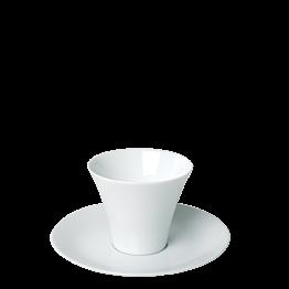 Taza Kyoto blanca Ø 7,5 cm. Alt. 6,5 cm. 11 cl.
