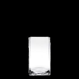 Soporte de fuente de cristal 23 x 23 cm. Alt. 30 cm