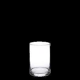 Soporte de fuente de cristal Alt. 20 cm Ø 15 cm.