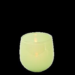 Portavela verde pistacho Ø 5,5 cm Alt. 6,5 cm