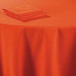Pasillo de mesa lino coral 50 x 270 cm.