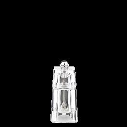 Molinillo de sal en metacrilato Alt. 11 cm. (sal no incluida)