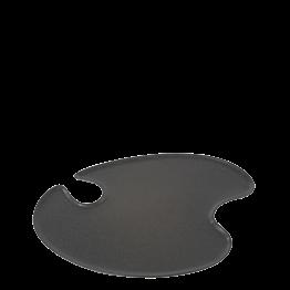 Plato pintor carbono 18 x 20 cm