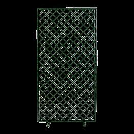 Biombo enrejado verde 100 x 200 cm