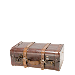 Maleta vintage de madera