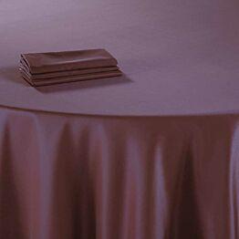 Servilleta Delhi ciruela 60 x 60 cm. ignífuga M1