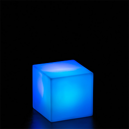 Cubo luminoso multicolor 7 x 7 x 7 cm