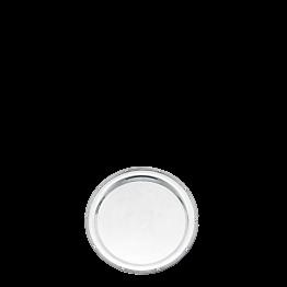 Bandeja redonda plata Luis XVI Ø 35 cm.