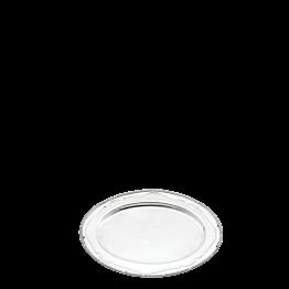 Bandeja oval plata Luis XVI 46 x 59 cm.